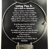 Living Plan B — Life is an Adventure – nickel free zinc alloy_Necklace