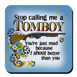 TOMBOY coaster