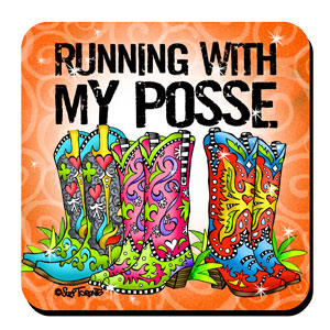 running with my Posse coaster