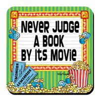 Never Judge a Book by its Movie – Coaster (LIMITED QUANTITY)