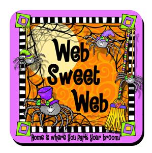 web sweet web - coaster
