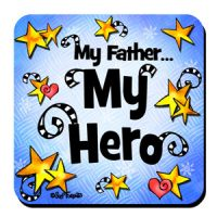 My Father… My Hero – (w FREE Coaster) Stainless Steel Tumbler