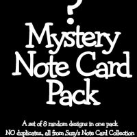Mystery Note Cards Pack