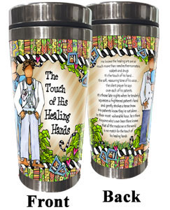 Healing Hand Stainless Steel tumbler