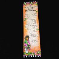I'm So Thankful You're My Daughter – (Premium) Bookmark