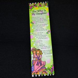 Daughter - Premium Bookmark