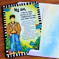 My Son, I am so very proud of the magnificent man you have become (Father's Day) – Greeting Card