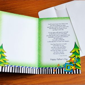 Father's Day - More Than my Son - greeting Card inside