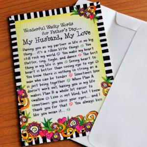 Wonderful Wacky Words for Father's Day…  (Father's Day) – Greeting Card