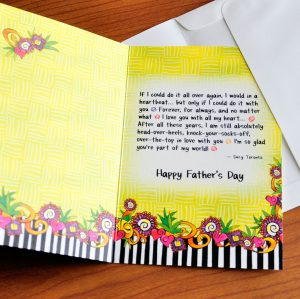 Father's Day - Husband - greeting card inside