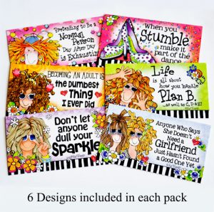 Feel the Tingle Pass-Along cards cards available