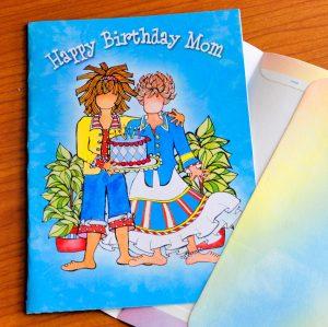 Happy Birthday Mom (Birthday) – Greeting Card