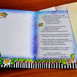 she who is my daughter greeting card - inside