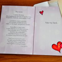 True Love is about looking forward together into eternity – Greeting Card