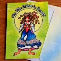 She Who Believes in Herself – Greeting Card (limited availability)