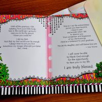 I'm So Thankful You're My Daughter – Greeting Card