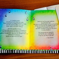 If You Want Rainbows You gotta Have Rain – Greeting Card (limited availability)