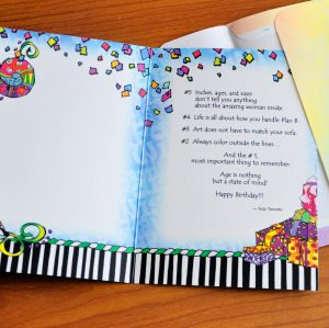 Top ten things to remember on your birthday greeting card inside
