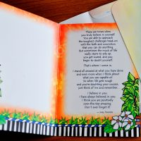 My Daughter, I Believe in You with All My Heart… – Greeting Card