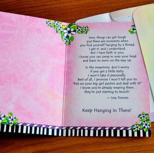 big girl panties greeting card -inside