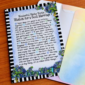 Good Marriage greeting card - outside