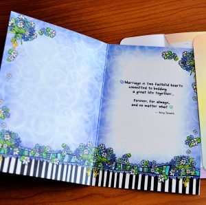 Good Marriage greeting card - inside