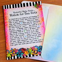 Wisdom for Teen Girls – Greeting Card