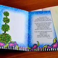 Never Give Up on Your Dreams – Greeting Card