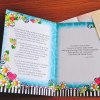 You're Crazy Brave & Wicked Strong – Greeting Card