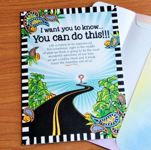 I want you to know… You can do this!!! – Greeting Card