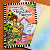 """It's finally here… your official """"Birthday Passport"""" (Birthday) – Greeting Card"""
