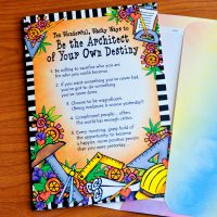 Ten Wonderful, Wacky Ways to Be the Architect of Your Destiny – Greeting Card