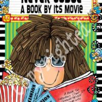 """Never Judge a Book By It's Movie – 8 x 10 Matted """"Gifty"""" Art Print with story on the back (16×20 also available)"""