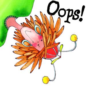 404 Error page images pretending girl