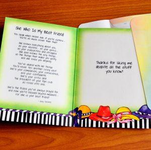 Best Friends greeting card - inside