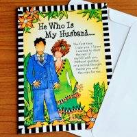 He Who Is My Husband… – Greeting Card