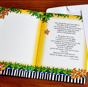 My Husband Greeting Card - inside