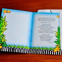 My Son… I Love You and I Believe in You with All My Heart – Greeting Card
