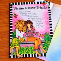 We Are Forever Friends – Greeting Card