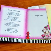 She Who Loves Her Dog – Greeting Card (limited availability)