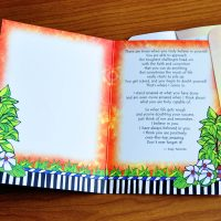 My Daughter, I Love and Believe in You – Greeting Card