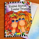 Kindred Spirits, Forever Friends – Greeting Card