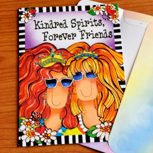 Forever Friends greeting card - outside