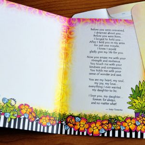My Daughter greeting Card - inside