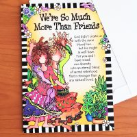 We're So Much More Than Friends – Greeting Card