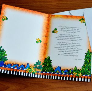 Brother greeting Card - inside