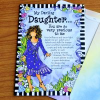 My Darling Daughter… You are so very precious to me – Greeting Card