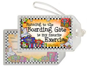 Travel Exercise - Bag tag