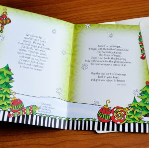 Reason for the Season Christmas Greeting card - inside