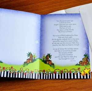 First Noel Christmas Greeting Card - inside